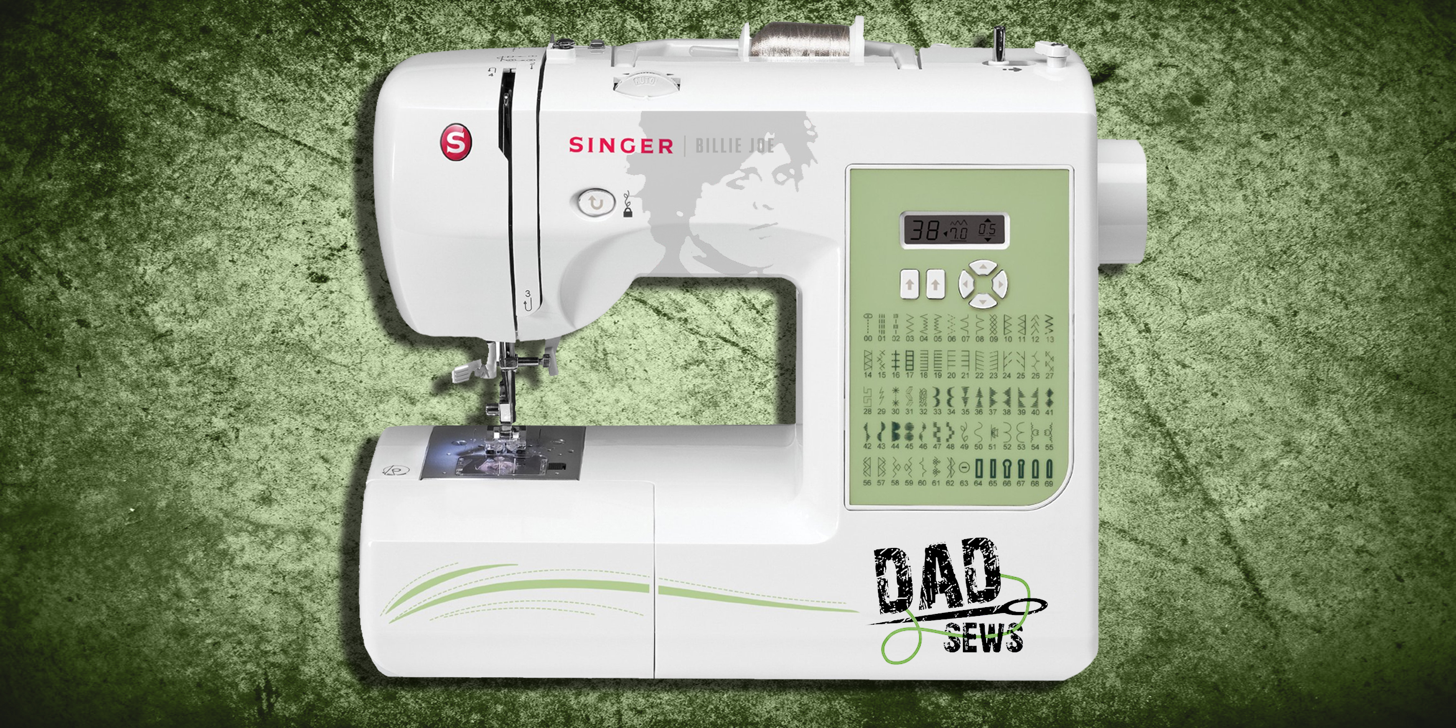 DadSews.com Our Singer Sewing Machine Billie Joe