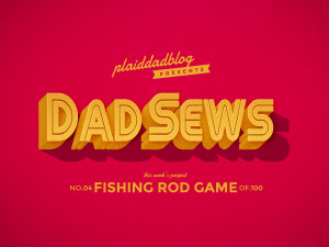 Dad Sews a Fishing Rod? How to sew fish for a magnetic fishing rod game.