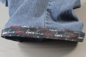 Dad Sews Easy Jean Cuttoffs With Bows - REMOVABLE & CUSTOMIZABLE