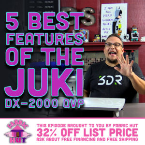 Top 5 Tips for the Juki DX-2000 QVP