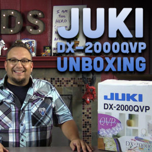 Juki DX-2000 QVP Unboxing by Dad Sews
