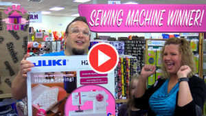 Free Juki Sewing Machine from DadSews & Fabric Hut!