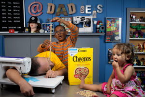 Cheerios Challenge - Raising strong kids with Cheerios - PlaidDadBlog & DadSews