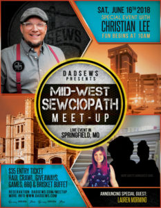 The DadSews Sewciopath June 16th Meet-Up