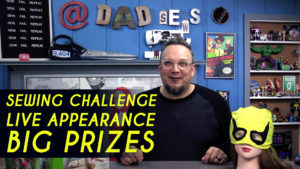 Sewing Challenge, Sewing Prizes, Live Appearance